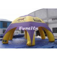 China Customized Logo Inflatable Advertising Tent / Airtight Blow Up Tent For Rental on sale