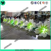 Wholesale 10m Inflatable Flower Chain With LED Light from china suppliers