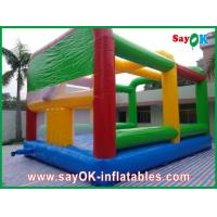 China Multi-colour Inflatable Bounce Castle House Large For Playground on sale