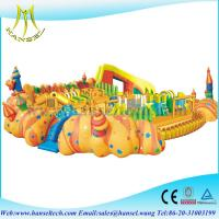 China Hansel Big Inflatable Water Park Equipment, Giant Inflatable Water Games for Adult on sale