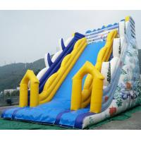China Large Inflatable slides with warranty 24months for commercial rental bussiness on sale