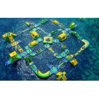 Popular Outdoor Inflatable Floating Water Park Games For Adults Bounce House Amusement Park