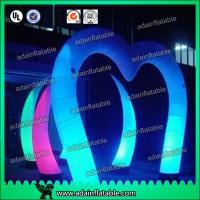 Wholesale Lighting Events Party Club Entrance Decoration Arch Decoration Inflatable from china suppliers