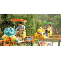Quality Monorail Ride Amusement Park Roller Coaster Equipment , Japan Air Cycle for sale