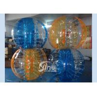 Wholesale Colorful kids N adults interaction inflatable bubble ball with quality harness from Sino inflatables from china suppliers