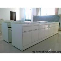 Quality 1.5*3*0.85m Steel Lab Furniture With Drawers For Science Projects Experiments for sale