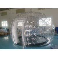 Wholesale PVC Airtight Igloo Transparent Inflatable Dome Tent With Led Light from china suppliers