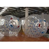 Wholesale Large Outdoor Inflatable Toys , Plato PVC Giant Human Sized Hamster Ball from china suppliers