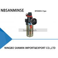 Wholesale Standard 5um Filter Regulator Lubricator Sanmin AFR2000 BFR2000 One Units from china suppliers