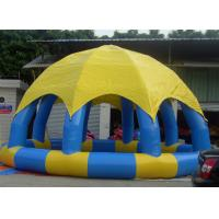 Wholesale Portable 8m Dia Inflatable Water Pool With Cover Above Ground Blow Up Pools from china suppliers