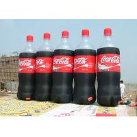 Wholesale Coca Cala Red / Black Inflatable Beer Bottle With 2 - 3 Minutes Inflate / Deflate from china suppliers