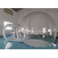 China Waterproof Advertising Dome 4m Inflatable Bubble Tent on sale