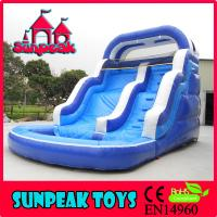 Quality WL-1834 Hot-selling PVC Inflatable Water slide for sale