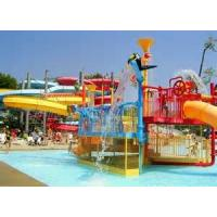 Wholesale OEM Fiber Glass Kids' Water Playground System , Body Slide Swimming pool Play Equipment from china suppliers