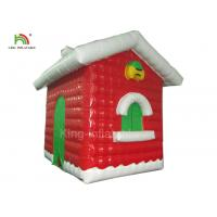 Wholesale Red Inflatable Christmas House For Festival Decoration One Year Warranty from china suppliers