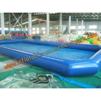 China 0.6 mm PVC Tarpaulin Inflatable Water Pool Toys Rental For Water Games on sale