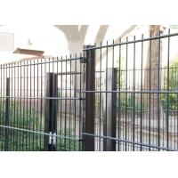 China Sunshine Proof Double Wire Mesh Fence 1.83 X 2.2 Meter With Round OD38MM Post on sale