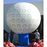 China Giant Inflatable Golf Ball/ Inflatable Golf Ground Balloon both side red logo on sale