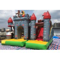 Wholesale PVC 0.55mm Commercial Kids Inflatable Bouncer Combo Jumping House With Slide from china suppliers