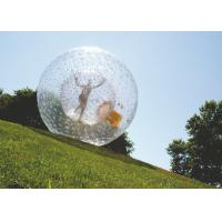 Wholesale Hot Air Welded Inflatable Hamster Ball Plato PVC Tarpaulin EN71 Certificated from china suppliers