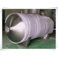 Wholesale Horizontal Replacement Air Compressor Receiver Tanks Mirror Polishing 8000 Liter from china suppliers