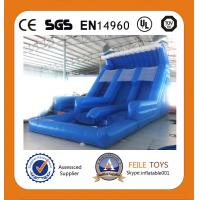 China 2014 hot sale big water slides for sale on sale