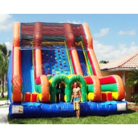 Wholesale 0.55mm PVC Tarpaulin Inflatable Bounce House Slide from china suppliers