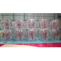Wholesale Colorful TPU Inflatable Bubble Ball , Inflatable Body Bumper Ball Soccer from china suppliers