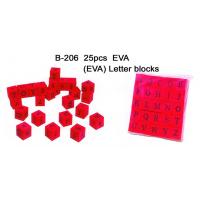 Wholesale Educational Toy, Alphabet Blocks, EVA Letter Blocks (B-206) from china suppliers