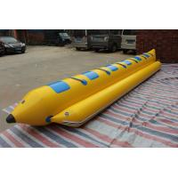 Wholesale Green Blue 0.9mmPVC Inflatable Banana Boat Fly Fish 5 Seats from china suppliers