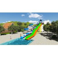 Wholesale SGS Water Park Design Fiberglass Sports Combination Pool Water Slide from china suppliers
