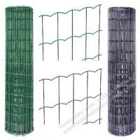 Wholesale Plastic Coated Welded Wire Mesh Rust - Resistant For Sport Yard / Residential from china suppliers