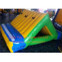 Buy cheap Business Rental 0.9mm PVC Inflatable Water Sports 3 X 2m Water Slide With CE from wholesalers