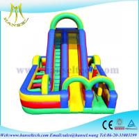 Wholesale Hansel inflatable obstacle course games/ inflatable obstacle races games for fun from china suppliers