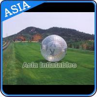 Custom Made One Entrance Water Zorb Ball , Inflatable Zorbing Balls