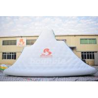 Wholesale Giant Inflatable Floating Iceberg , Water Climbing Wall For Ocean from china suppliers