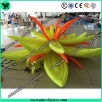 Wholesale Yellow Lotus Flower Inflatable,Holiday Event Decoration,Giant Inflatable Flower from china suppliers