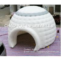 Wholesale Fire Retardant Material Inflatable Air Tent Dome Tent For Playing Center from china suppliers