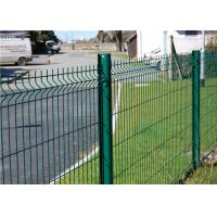 China Custom PVC Welded Wire Mesh Fencing 200mm x 50mm For Road Airport on sale