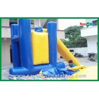 China Commercial Inflatable Water Toys , PVC Tarpaulin Inflatable Bouncer Slide on sale