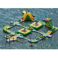 Wholesale New Design Giant Beach Inflatable Water Parks Lake Floating Water Games from china suppliers