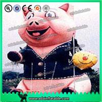 Wholesale Advertising Inflatable Animal Giant Event Inflatable Pig Model from china suppliers