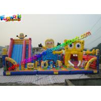 Wholesale Water - Proof  Minion & Spongebob Inflatable Amusement Park With PVC Vinyl from china suppliers