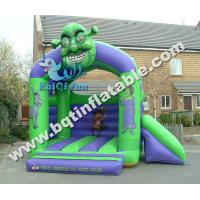 Quality Inflatable shrek combo,inflatable bounce with slide for sale