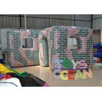 Wholesale Outdoor Speedball Inflatable Bunkers / Inflatable Paintball Obstacles For Rental from china suppliers