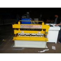 Wholesale Trapezoid IBR Tile Roof Panel Roll Forming Machine , Metal Roll Forming Machines from china suppliers