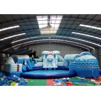 Wholesale Fun Inflatable Amusement Park Giant Ice World Antarctic Penguin Water Amusement Park from china suppliers