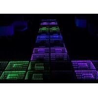 Wholesale Interactive 3D LED Dance Floor High Sensitivity Providing 96 Kinds Lighting Effect from china suppliers