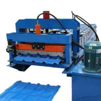 Buy cheap Automatic Metal Roof Glazed Tile Roll Forming Machine Manufacturers from wholesalers