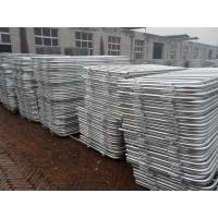 Wholesale customized metal crowd control barrier, portable barricades, pedestrian barriers from china suppliers